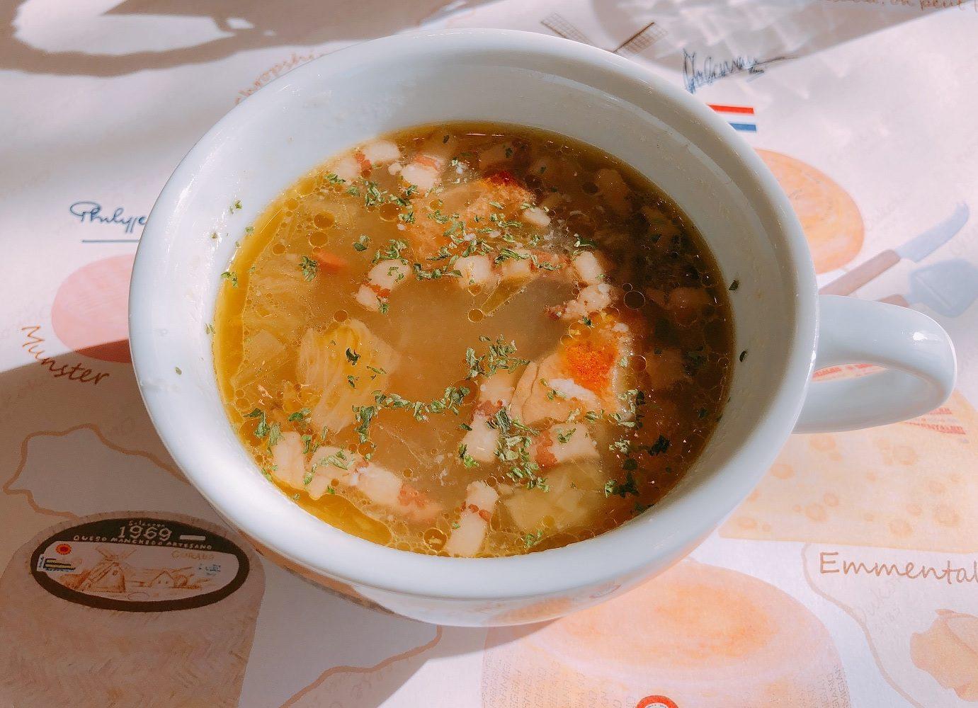 チーズ王国のスープ