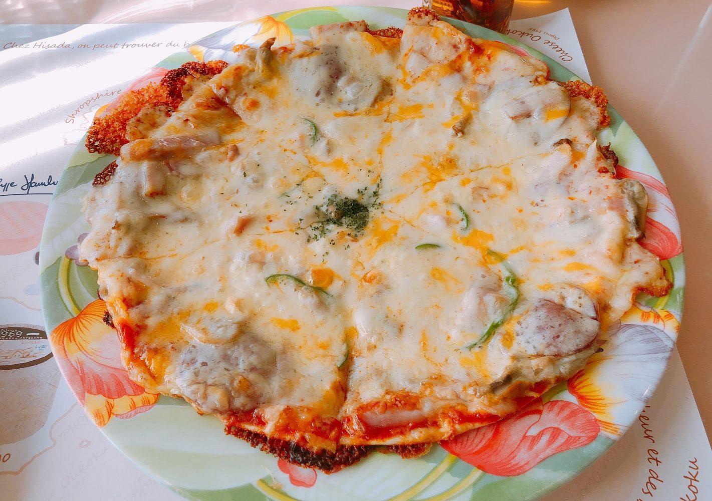 チーズ王国のピザランチ