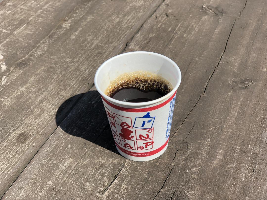 パンパティはコーヒーが無料