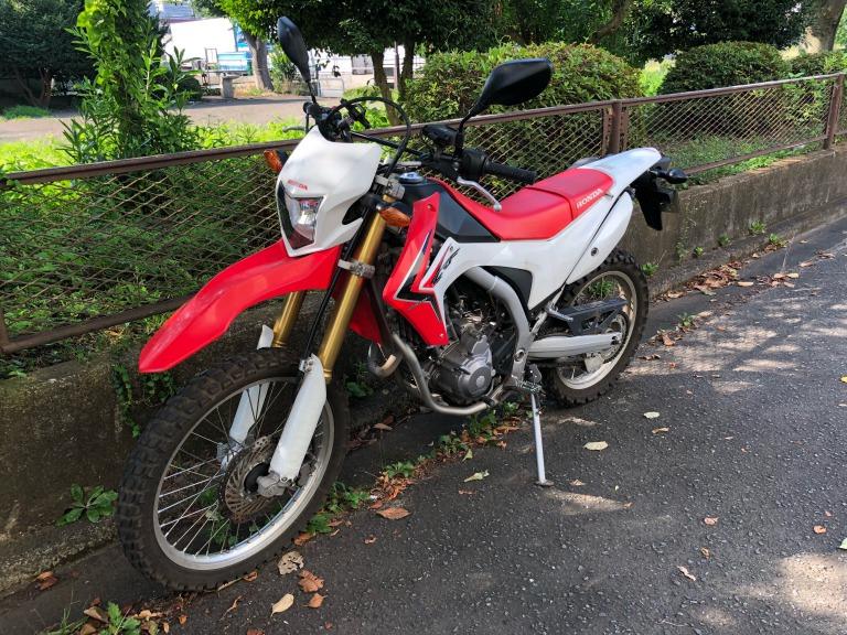 ホンダのオフロードバイク
